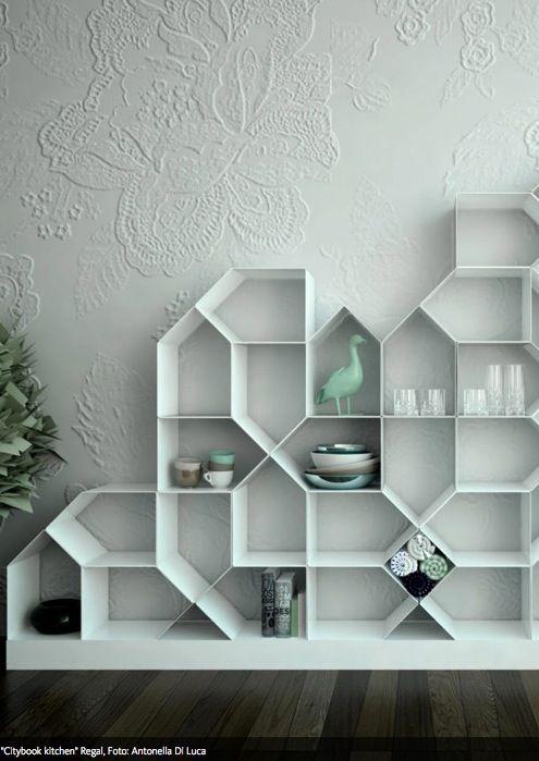 blo nicht eint nig regale als blickfang abgefahrene wohnideen pinterest. Black Bedroom Furniture Sets. Home Design Ideas