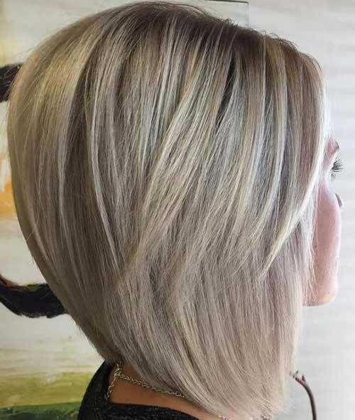 Stacked Bob Hairstyle Captivating Graduated Bob Hairstyles Are The Latest Trend  Pinterest