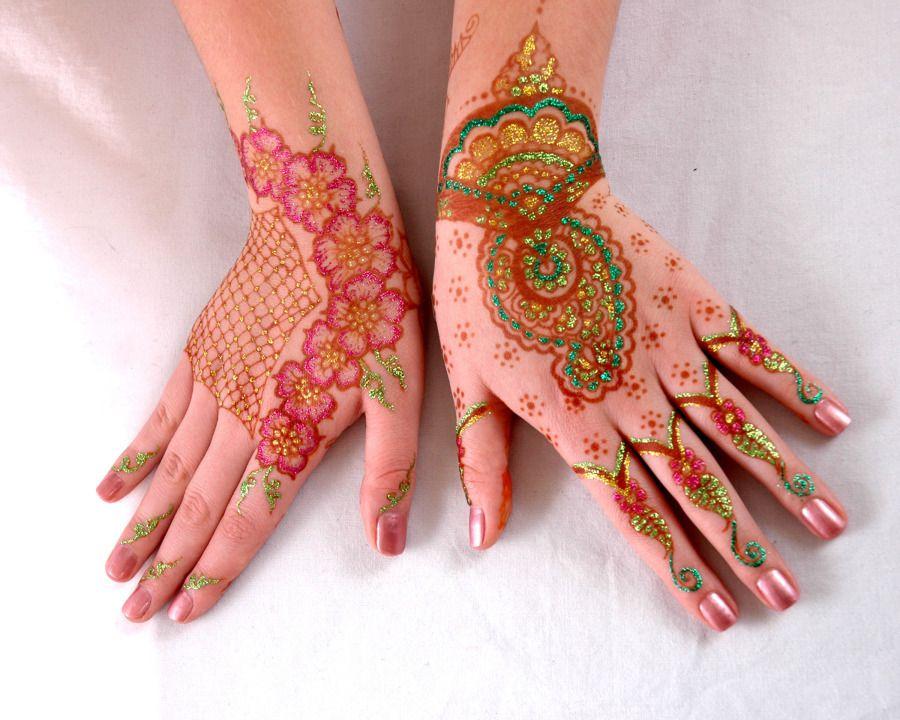 Professional Gilding Glitter Mehandi Designer in Chennai | Mehndi ...