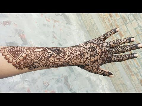 Mehndi Henna Designs S : Unique floral dulhan bridal henna design latest mehndi 2018