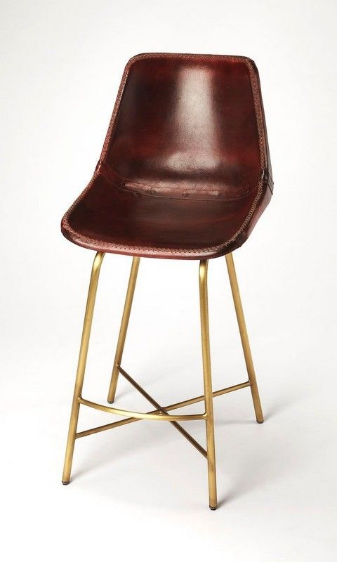 Butler Commercial Leather Bar Stool 3788140 Butler Commercial
