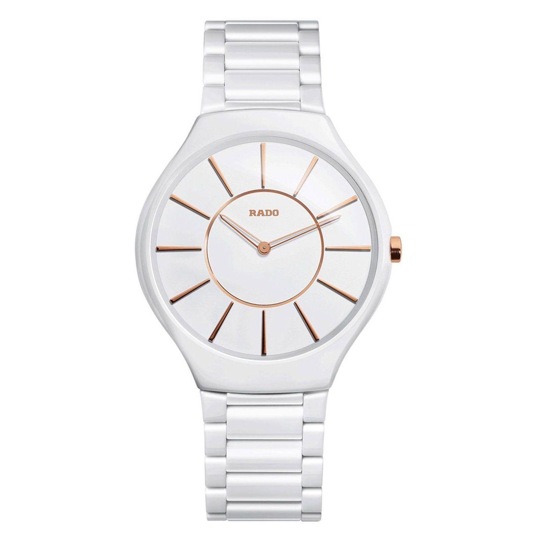 9a84055a4 Rado Women's R27957102 True White Ceramic Watch   Products   Rado ...