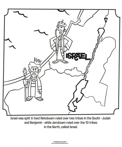 Israel and Judah - Bible Coloring Pages | Bible Coloring Pages ...