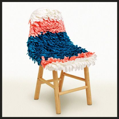 Christian Vivanco piñata chair
