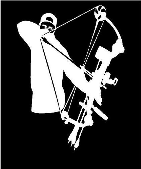 Bow Hunting Not For Amateurs Car Truck Window Decor Vinyl Decal Sticker