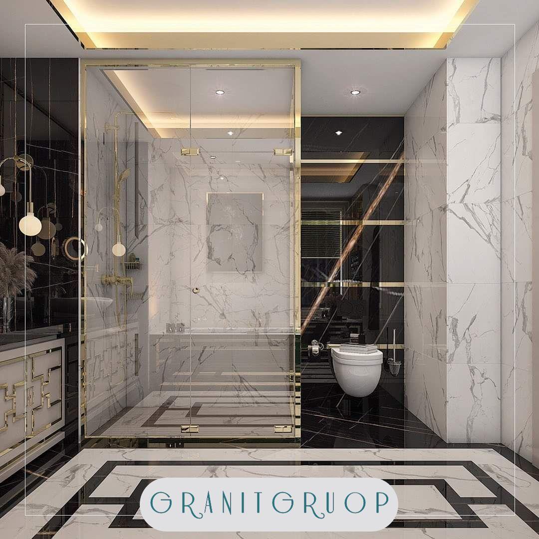ديكورات حمامات مودرن عصرية فاخرة في إسطنبول Tel 90 5393809763 شقق فيلات وكافة المشاريع ال In 2020 Interior Architecture Design Modern Bathroom Architecture Design