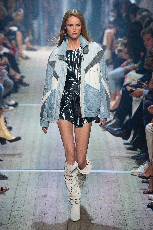 50e085cb360 Isabel Marant Spring 2019 Ready-to-Wear Fashion Show in 2019 | Denim ...