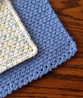 How to Crochet a Dishcloth - A Beginner's Pattern ...