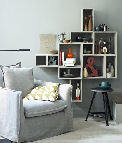 Wohnideen fürs Wohnzimmer Box shelves, Shelves and Living room - wohnideen fürs wohnzimmer