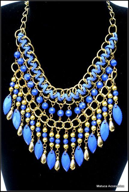Collar Codigo:207 | collares | Pinterest | Draht, Halsketten und Perlen