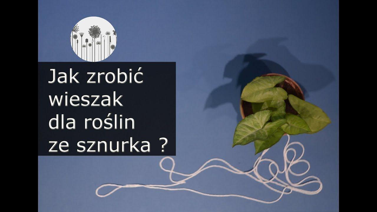 Jak Zrobic Wieszak Na Kwiatki Ze Sznurka Prosta Makrama Movie Posters Poster Diy