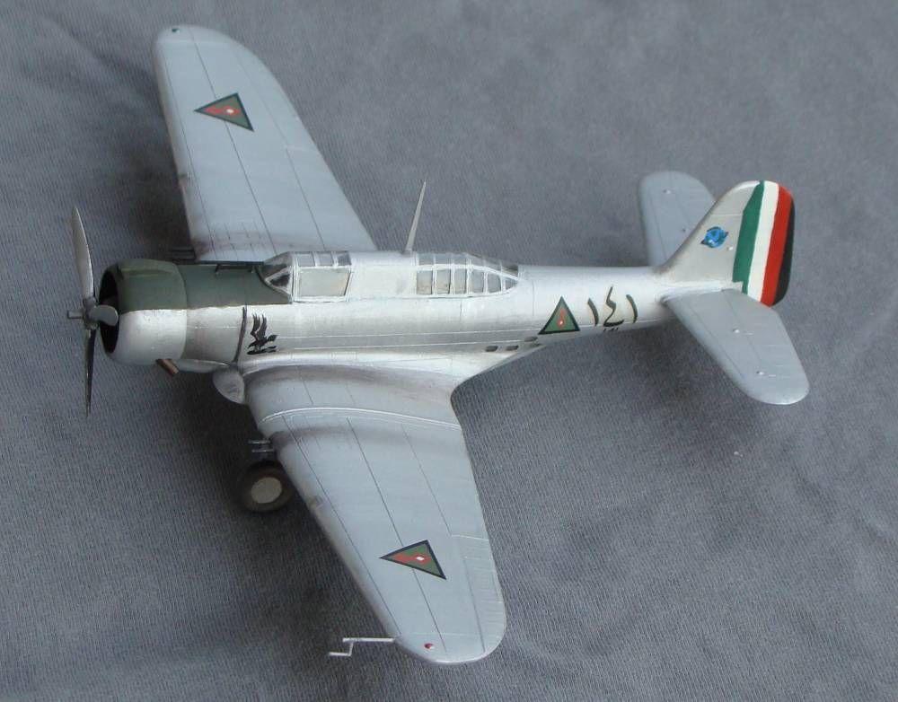 Iraqi Northrop a17 bomber model