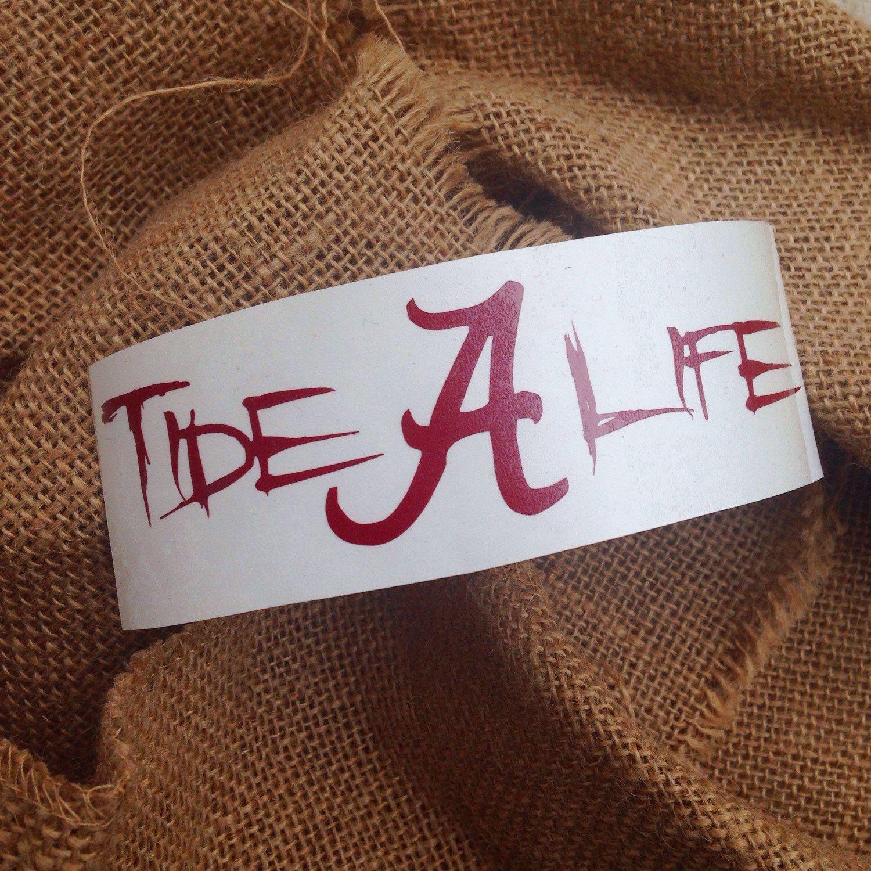 Alabama Roll Tide Decal State Salt Life Tide Life Sticker Car Decal Monogram Decal Monogram Bama Sticker Gift Monogram Decal Salt Life Decals Monogram Stickers [ 1500 x 1500 Pixel ]