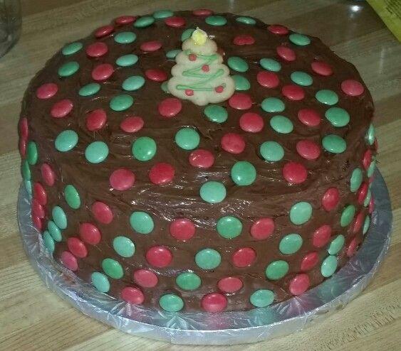 Nutella Swirl Cheesecake Cake.  A Nutella Swirl cheesecake layer between 2 chocolate cake layers. Nutella cream cheese frosting
