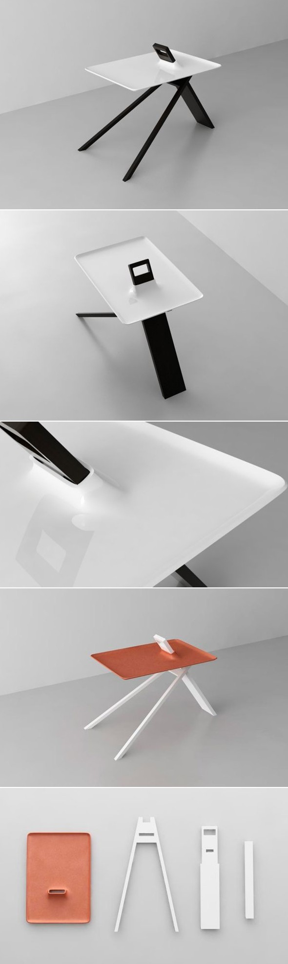 Table TRIPOD Par Noon Studio