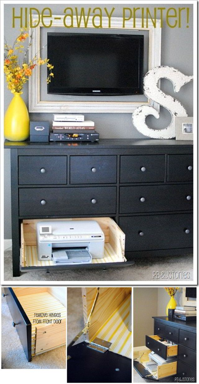 Las Incomodas Impresoras Rincones De Trabajo Despachos  # Muebles De Cocina Feos
