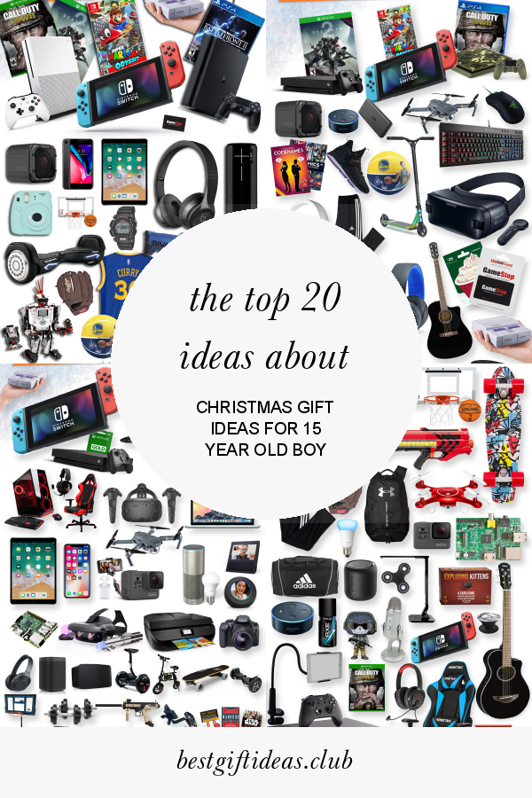 The Top 20 Ideas About Christmas Gift Ideas For 15 Year Old Boy 15 Year Old Christmas Gifts Christmas Gifts For Boys 15 Year Old Boy