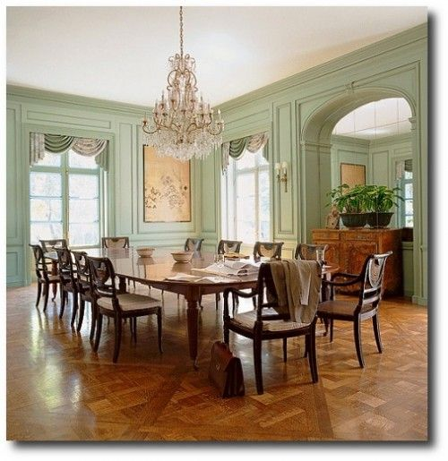 Regency Interior Design Painting Prepossessing The Wiseman Group Painted This Beautiful Dining Room A Pale Milky . Inspiration Design