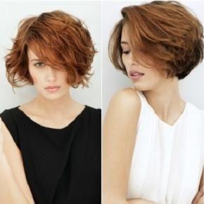 Tagli di capelli mossi corti