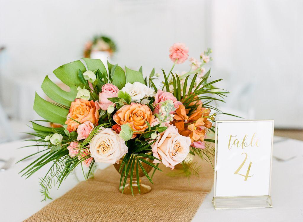 Tropical Destination Beach Wedding in Florida — Lauren
