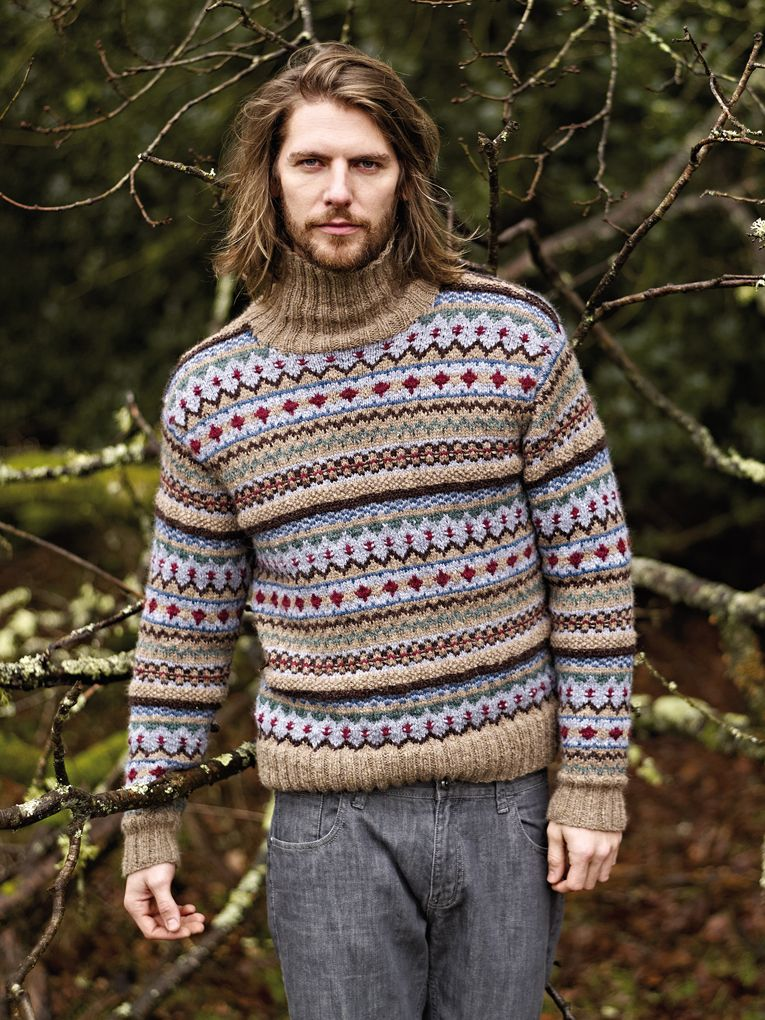 Youlgrave\' men\'s fairisle sweater from Autumn Knits | swetry ...