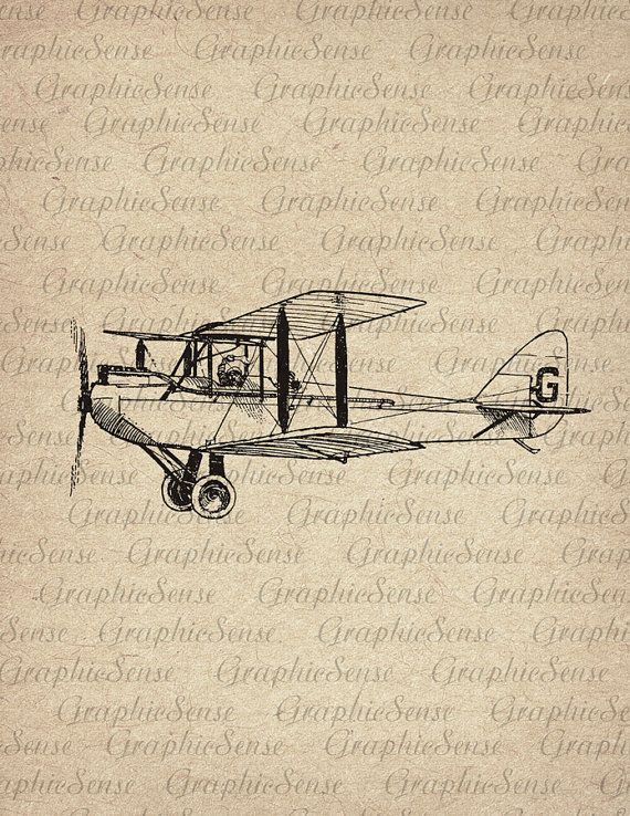 Articulos Similares A Avion Retro Graficos Imprimibles Collage Digital Imagen Descarga Del Hierro De Hoja En Tran Airplane Drawing Plane Drawing Airplane Art
