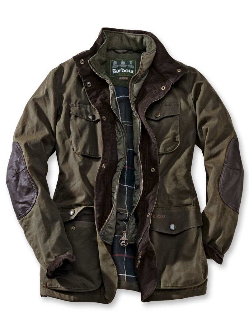 Barbour mantel wolle