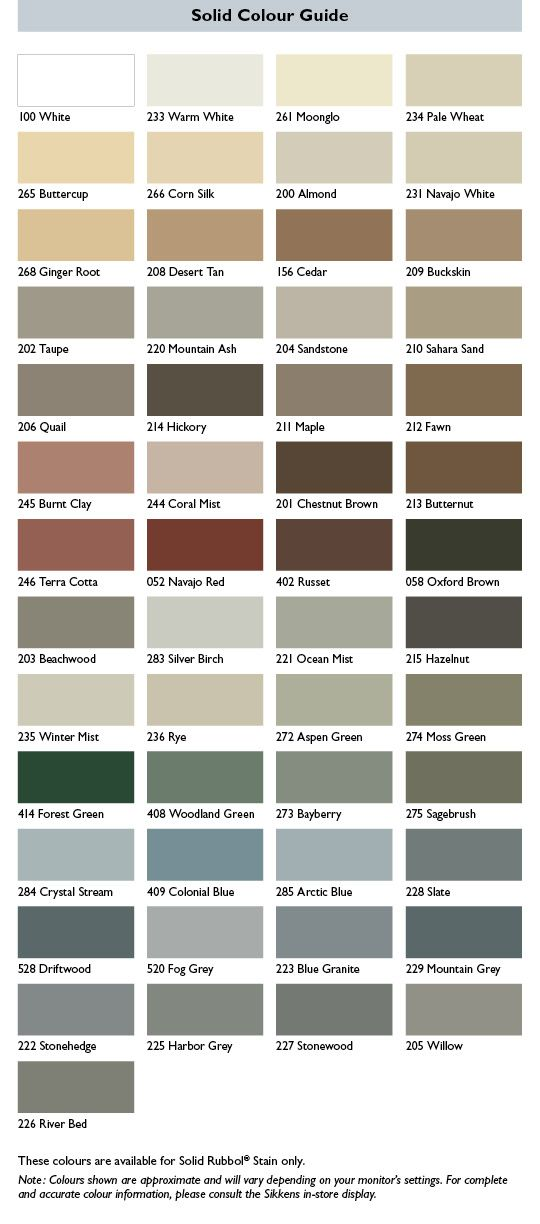 Solid Our Colours Sikkens Canada LOVE,LOVE, LOVE Pinterest