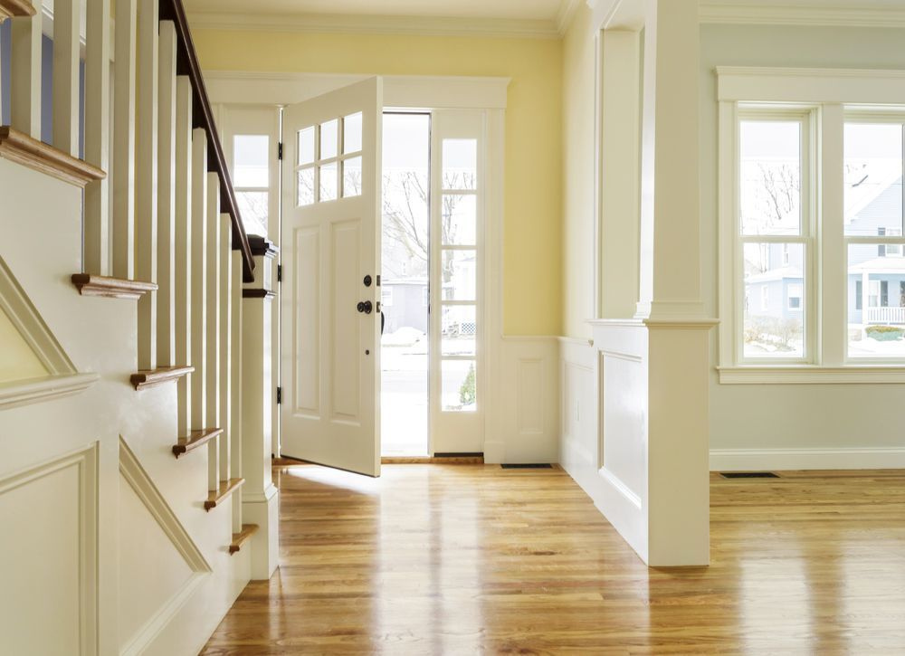 No Foyer Entry We Walk Straight Into The Living Room House Entrance Main Door Design Apartment Entrance #no #entryway #living #room