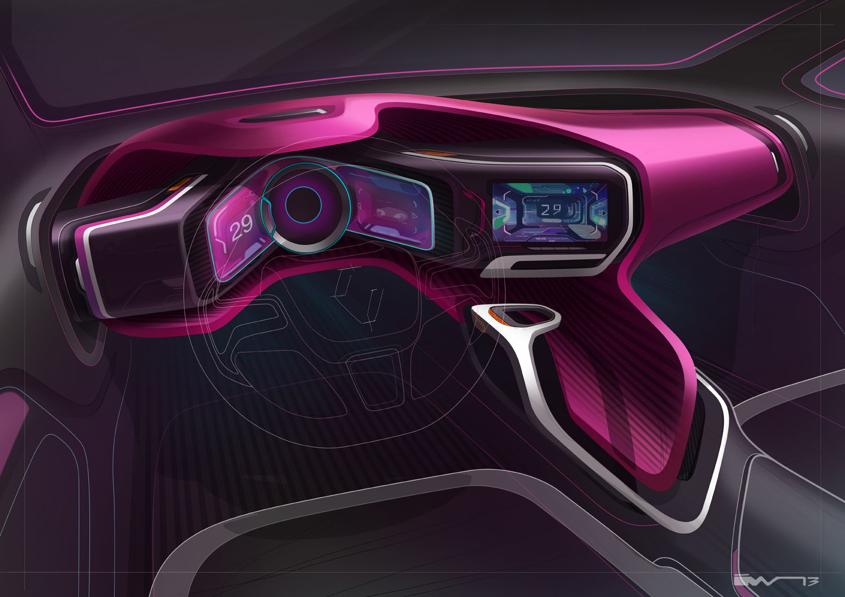 futuristic interior sketches pinterest futuristic interior futuristic and futuristic cars. Black Bedroom Furniture Sets. Home Design Ideas