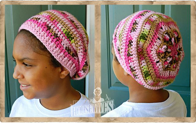 Ravelry African Flower Slouchy Pattern By Hooking Housewives
