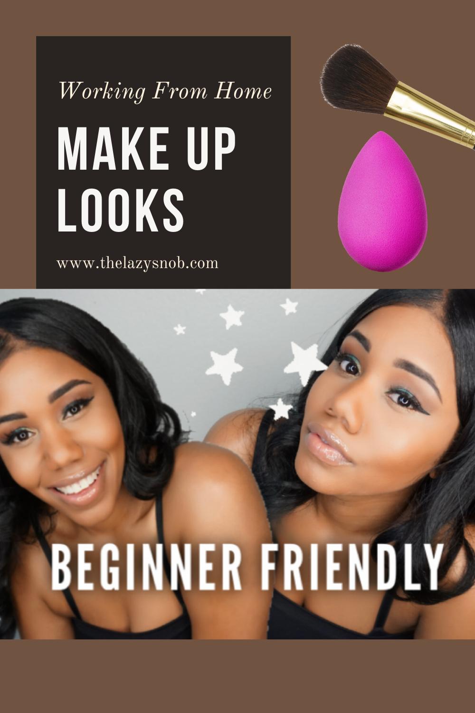 Beginner Make Up Looks For Black Women in 2020 Simple