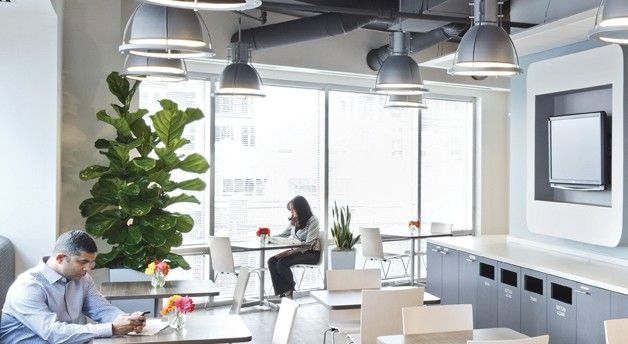This In Sapient Corporationu0027s Newly Renovated Designed By DCu0027s FOX  Architects, Offers Employees The Opportunity To Congregate, As Seen In Our  July/August ...