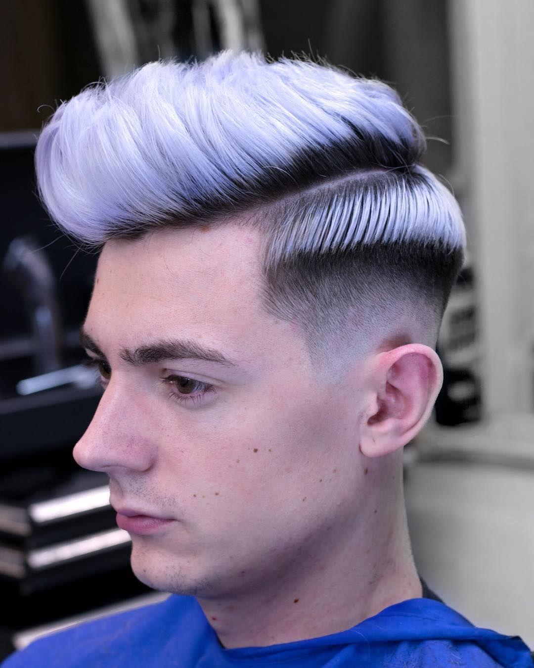 Coupe de cheveux pour homme mur