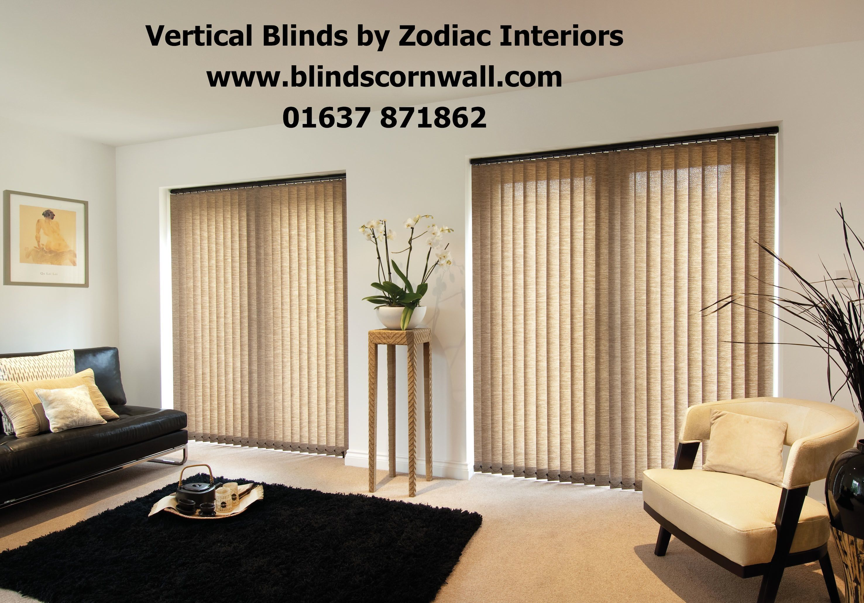 Vertical Blinds Are A Great Way To Dress Your Windows