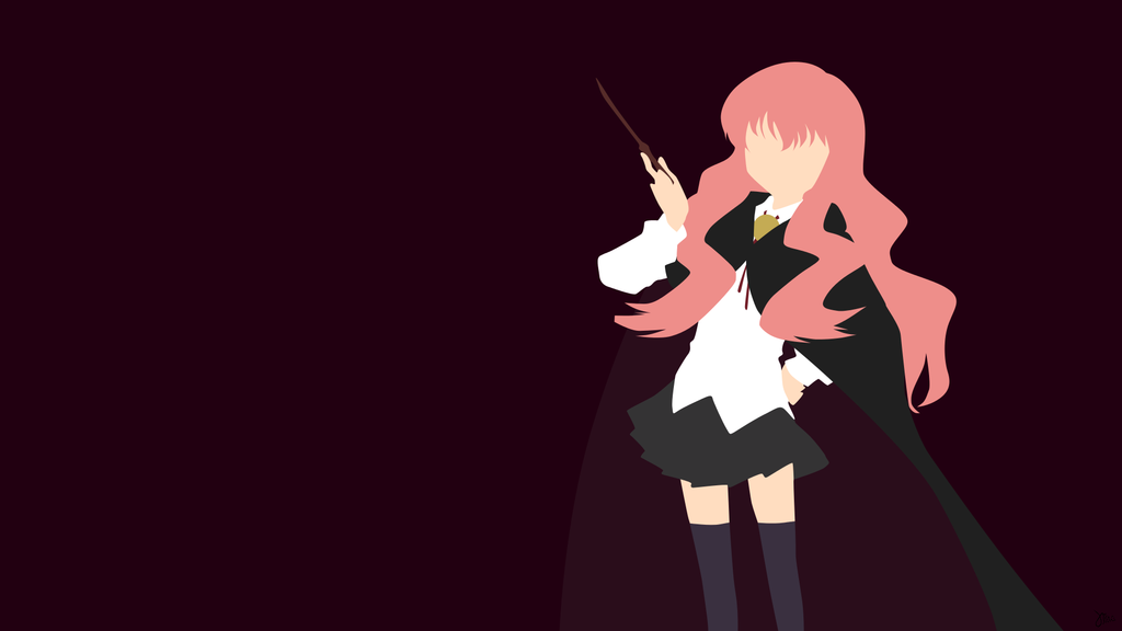 Louise (Zero No Tsukaima) Minimalista Wallpaper Por