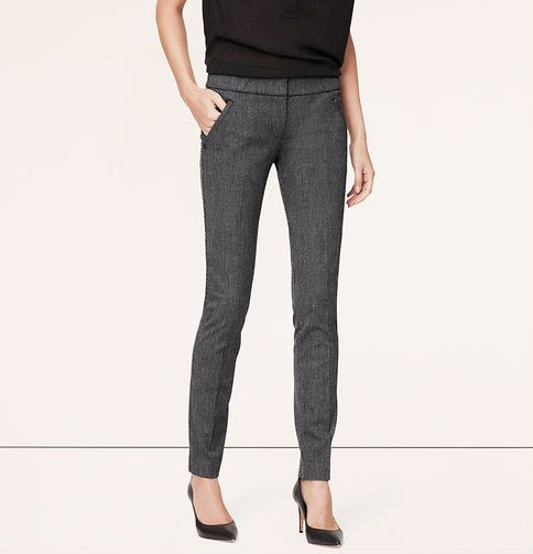 82b949a422e0e Birdseye Moto LOFT Bi-Stretch Skinny Pants in Marisa Fit | Loft ...