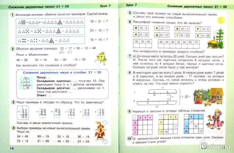 Скачать урок перспективная начальная школа 1 класс по теме слагаемые и сумма