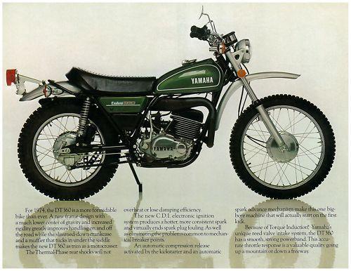 YAMAHA-Brochure-DT360-DT360A-1974-Sales-Catalog-Catalogue-REPRO