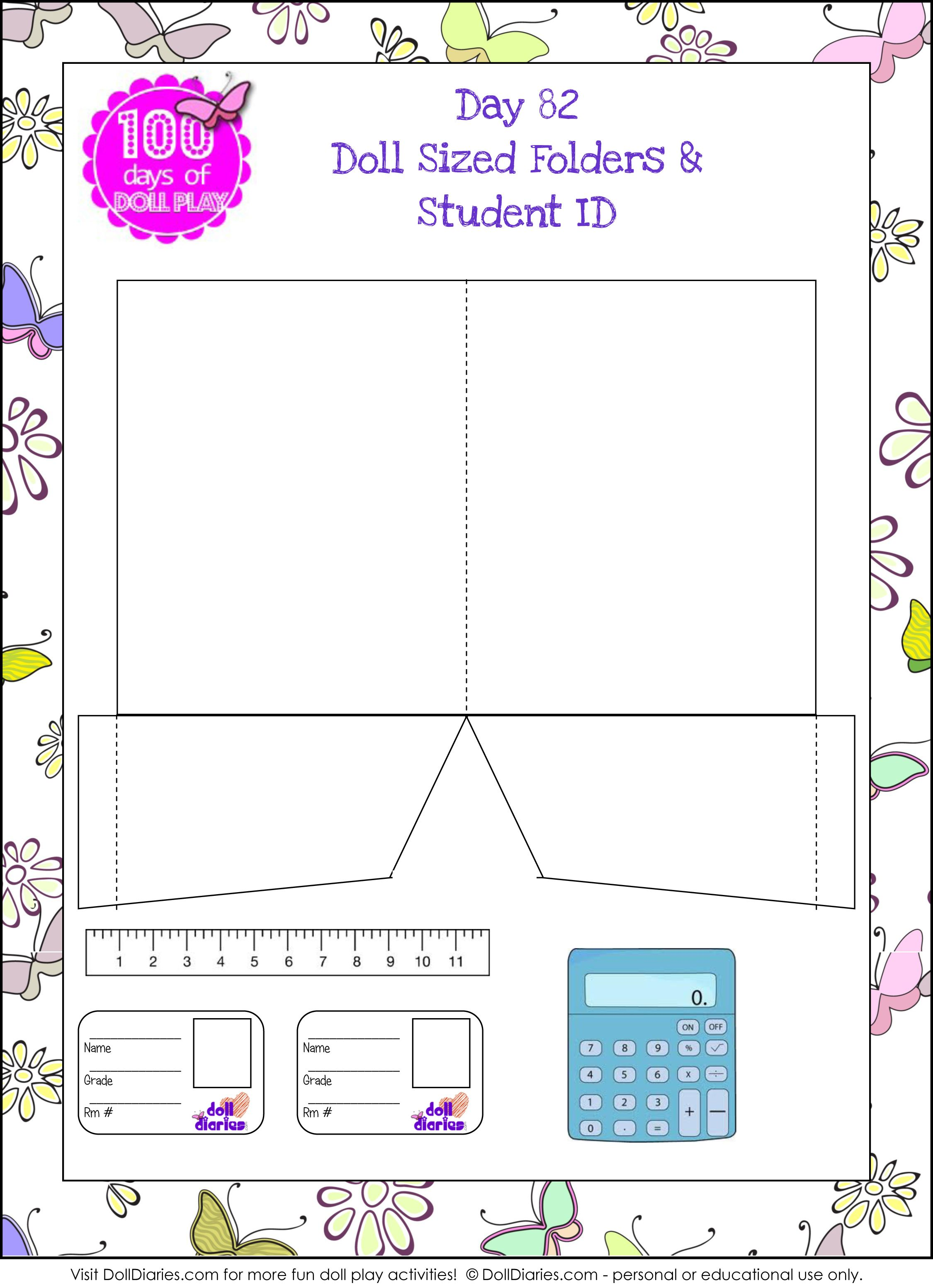 I Love These Little School Supply Printables From Doll