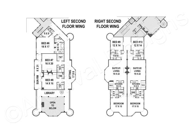 Balmoral House Plan Castle Plans House Plans Castle House Plans