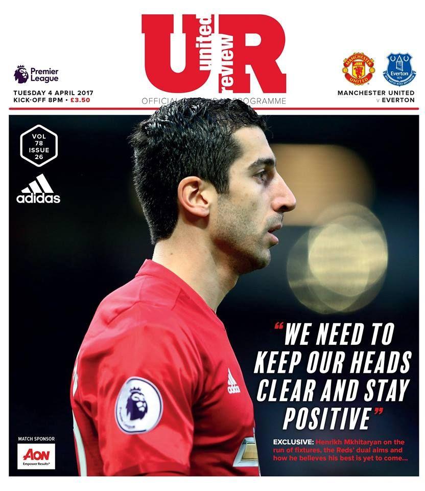 Հենրիխ Մխիթարյանը՝ Manchester United Review ամսագրի ...