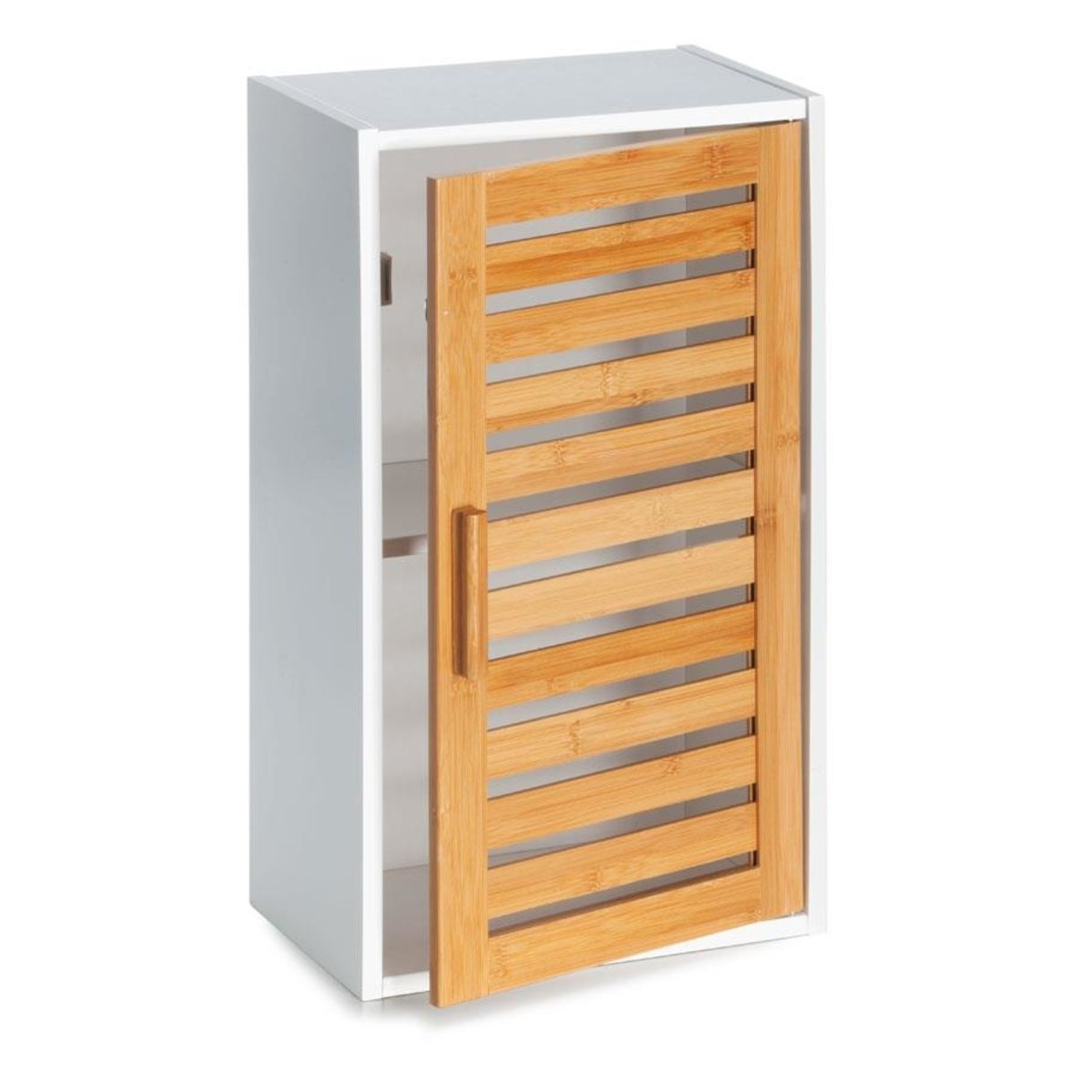 Delicieux Bamboo Bathroom Cabinet With Adjustable Shelf