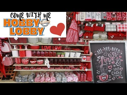 274 Hobby Lobby Valentines Day Decor 2020 Shop With Me Youtube Hobby Lobby Decor Hobby Lobby Hobby