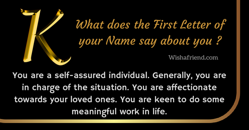 b4974838a First Letter of your Name : Letter k | Yup! That's Me! | Name ...