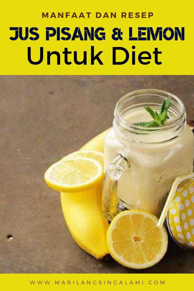 Tips Membuat Jus Diet Pisang Plus Jeruk Untuk Menurukan Berat Badan Diet Jus Jeruk