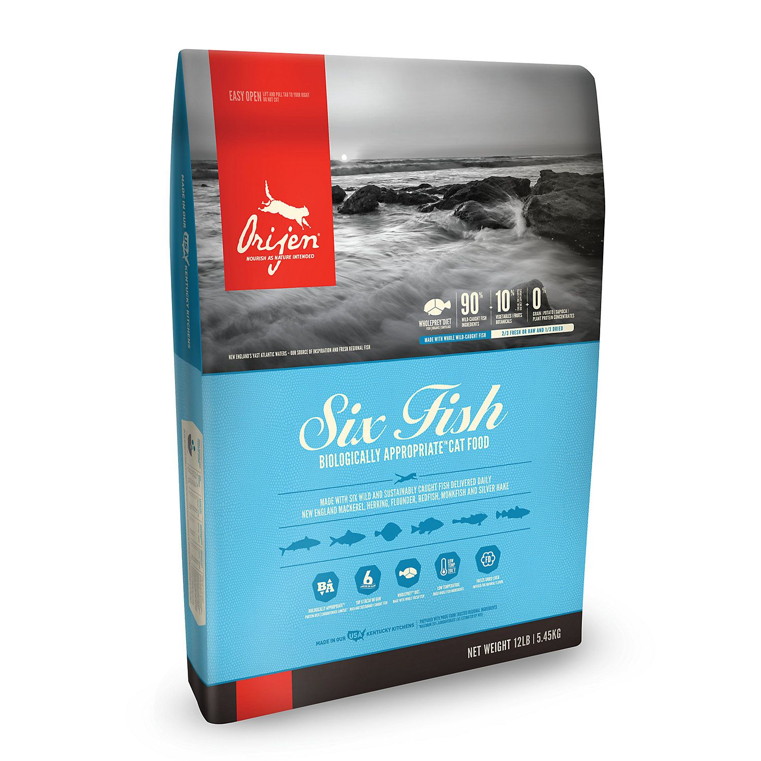 Orijen Six Fish Dry Cat Food 12 Lbs Dog Food Recipes Dry Cat