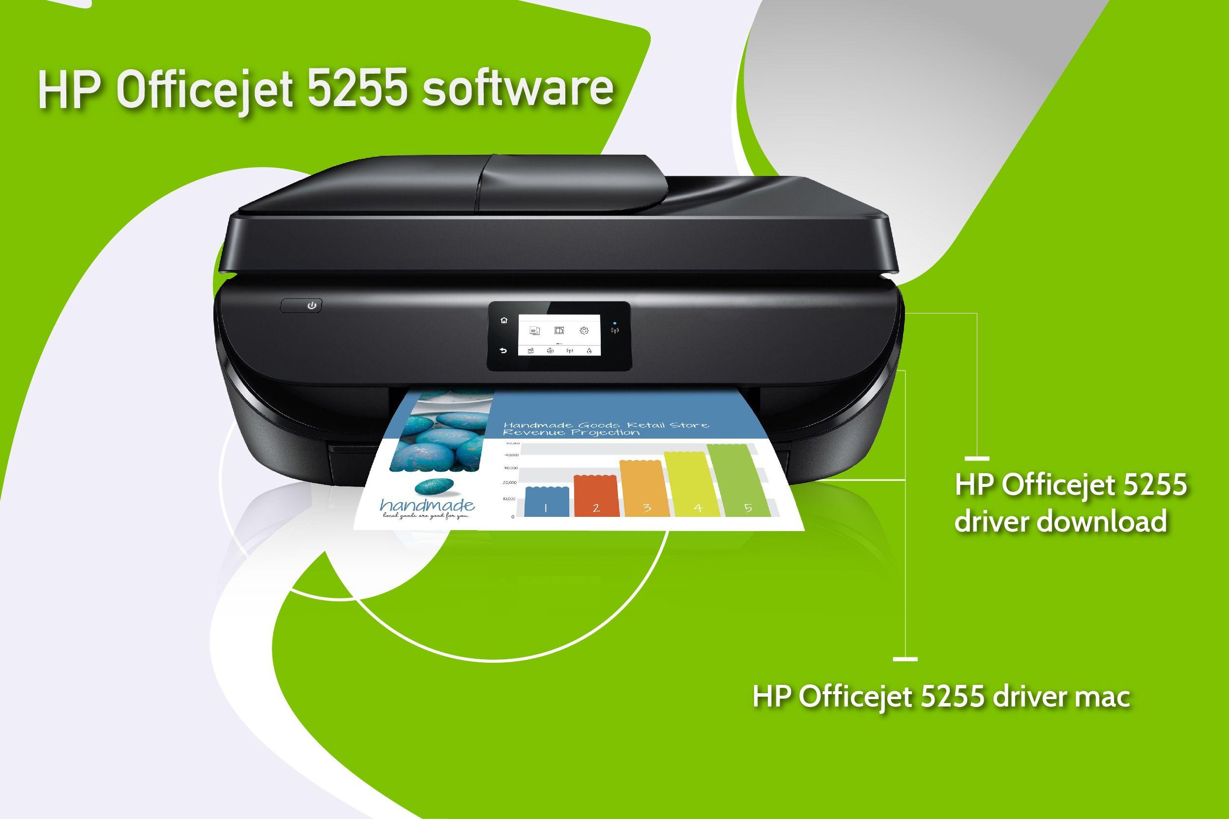Guidance For Hp Officejet 5255 Software Installation Hp Officejet Printer Driver Printer