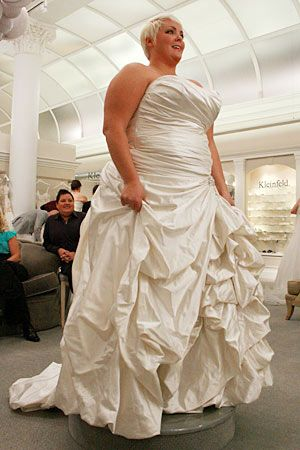 Real Life Plus Size Bride