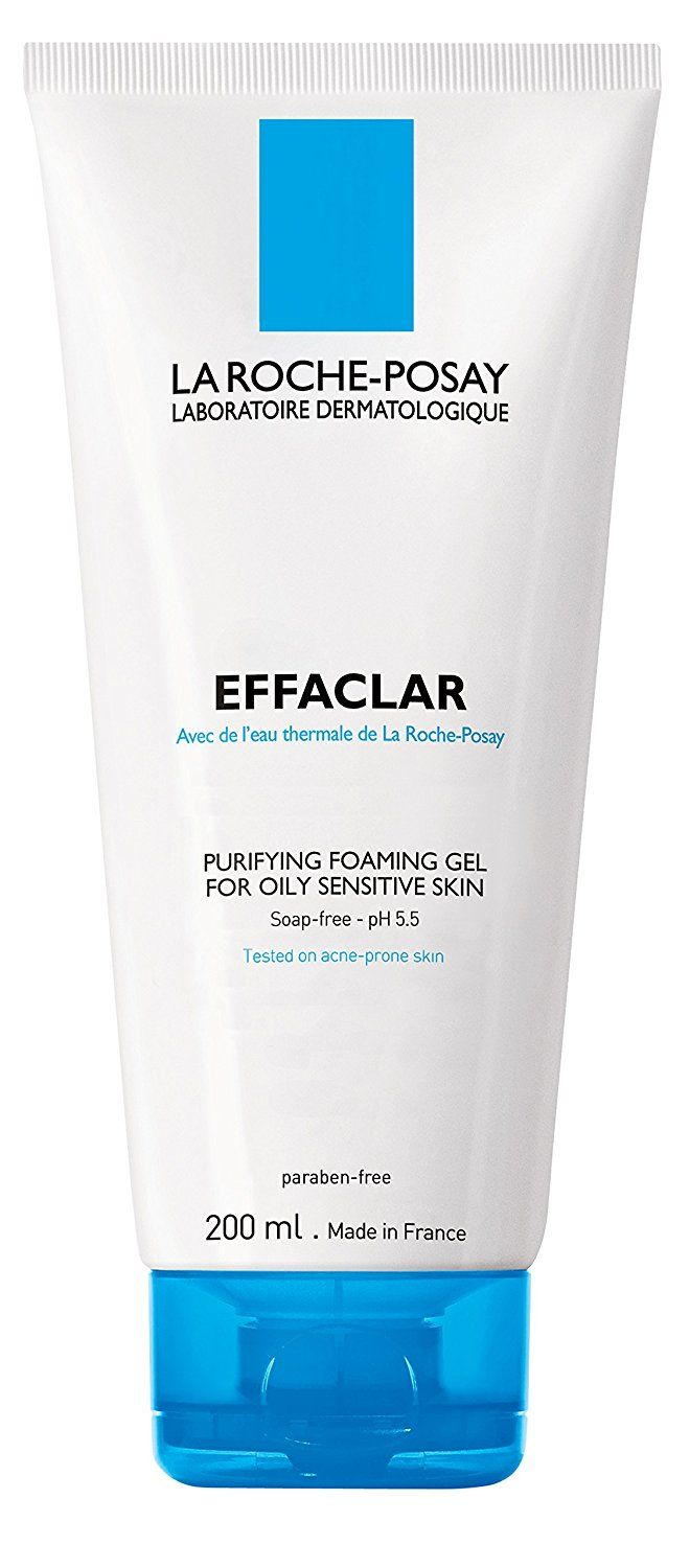 La Roche-Posay Effaclar Purifying Foaming Gel 6.76 oz (Pack of 4) Thalgo - Melt-In Smoothing Brightening Cream -50ml/1.69oz